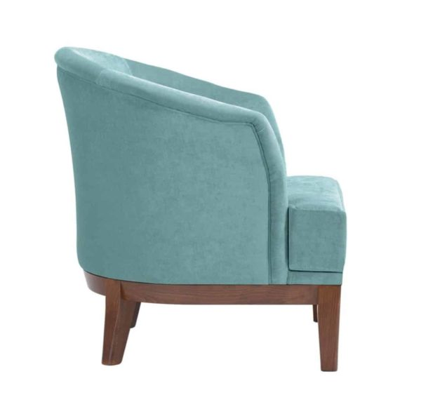 Isla Armchair DeFrae Contract Furniture Side View
