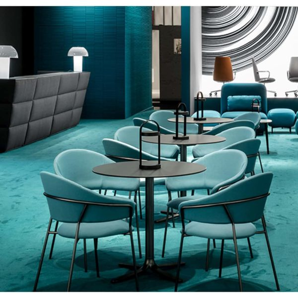 Jazz Side Chairs by Pedrali at DeFrae Contract Furniture In Situ
