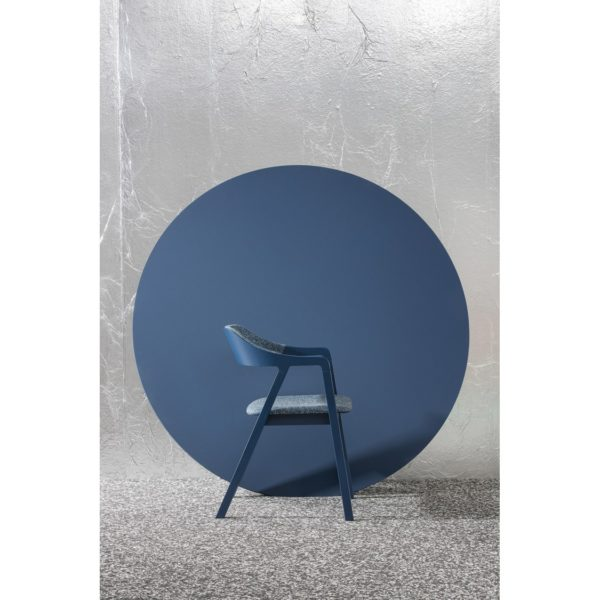 Layer armchair curved back Billiani at DeFrae Contract Furniture Ambient Blue