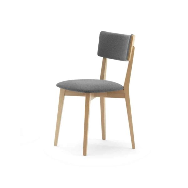 Liliosa Side Chair Wooden Restaurant Chair Lily Cantarutti DeFrae Contract Furniture
