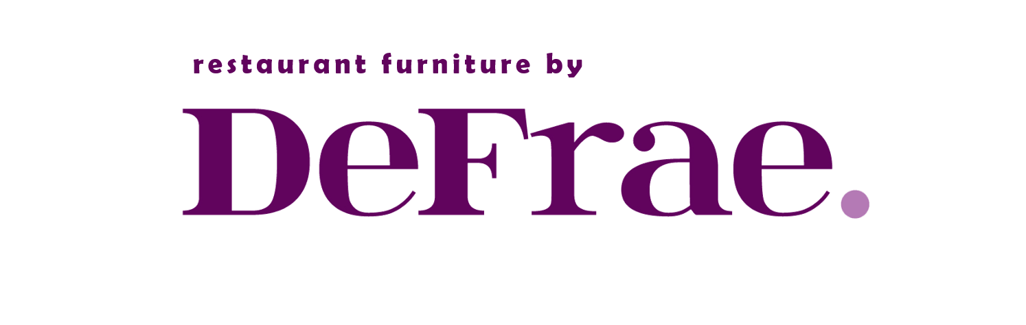 Restaurant furniture by DeFrae Contract Furniture London Essex UK