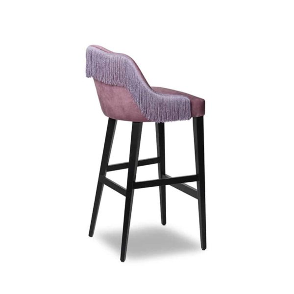 London Bar Stool ContractIn available from DeFrae Contract Furniture tassles
