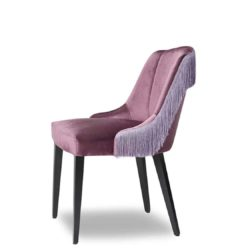 London Side Chair ContractIn available from DeFrae Contract Furniture tassles