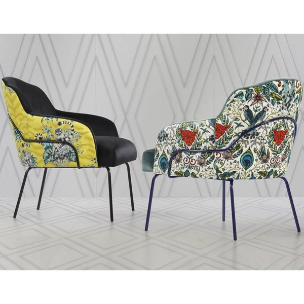 London Tube Lounge Chair Available From DeFrae Contract Furniture