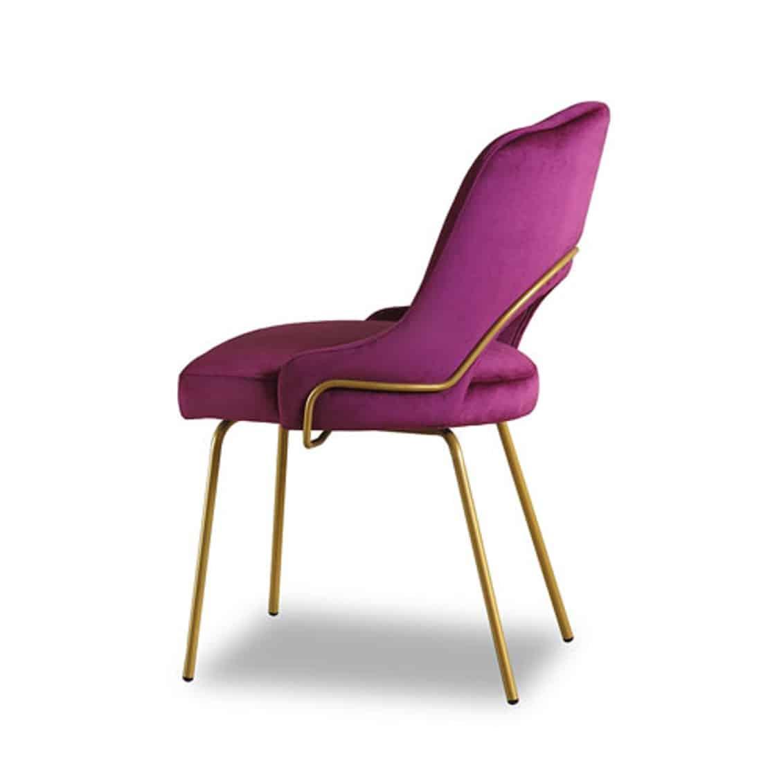London Portobello Tube Side Chair
