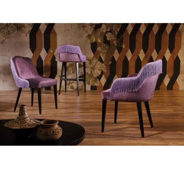 London Side Chair Armchair Bar Stool ContractIn available from DeFrae Contract Furniture braiding