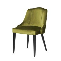 London Side Chair Available From DeFrae Contract Furniture Green Velvet