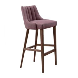 Louvre Fluted Bar Stool Contract In DeFrae Contract Furniture