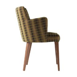 Louvre Wood Armchair Contract In DeFrae Contract Furniture