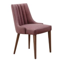 Louvre Wood Side Chair Fluted Back Contract In DeFrae Contract Furniture