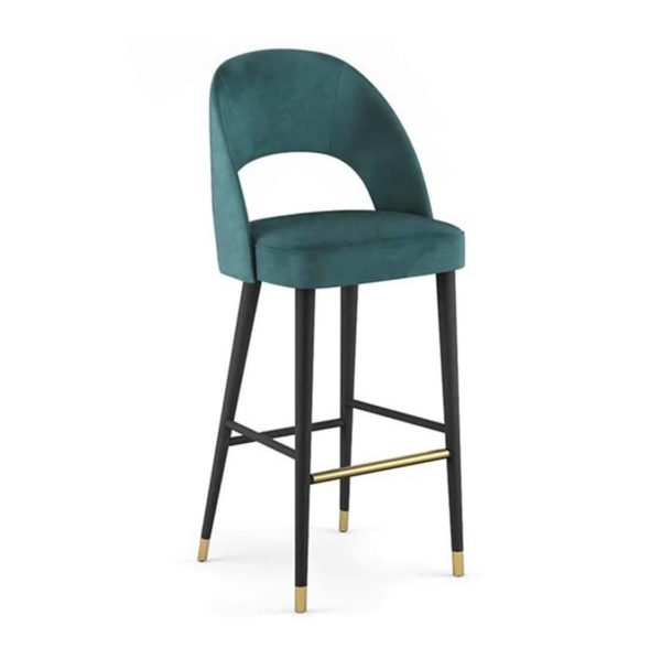 Luxe Bar Stool Artu SG Deluxe DeFrae Contract Furniture