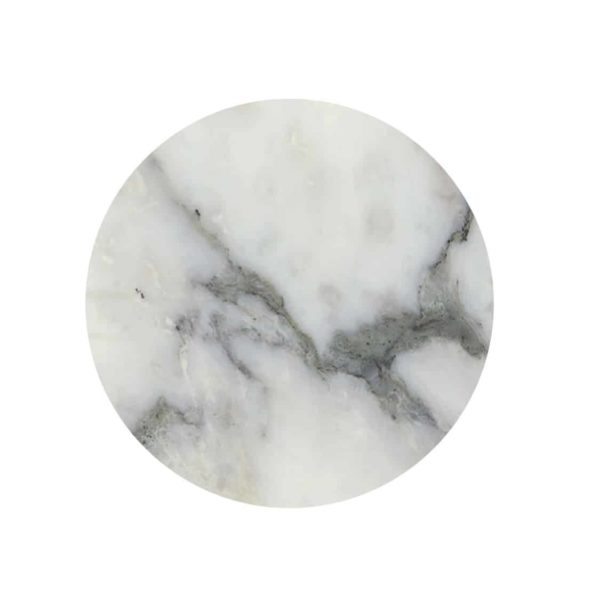 Marble tabletops available from DeFrae Contract Furniture carrara marble