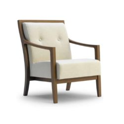 Millennium P Deluxe Lounge Chair DeFrae Contract Furniture
