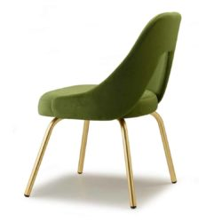 Mimi Side Chair By Scab Design Available From DeFrae Contract Furniture Green Velvet Gold Metal Frame Me Chair