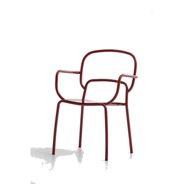 Moyo Int armchair DeFrae Contract Furniture Red