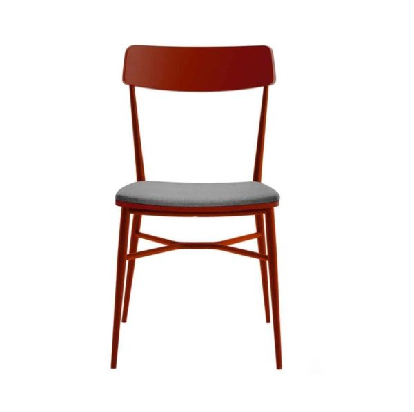 Naika Side Chair DeFrae Contract Furniture Red