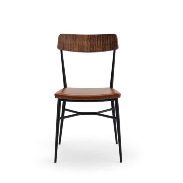 Naika Side Chair DeFrae Contract Furniture Walnut