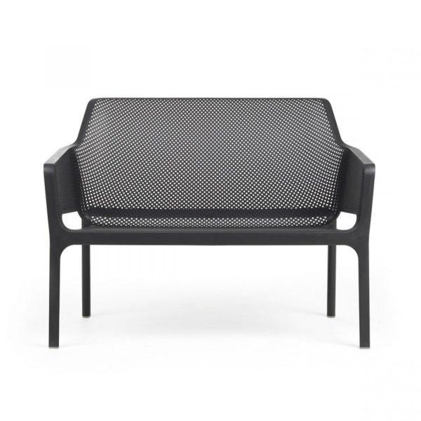 Net Bench DeFrae Contract Furniture Black