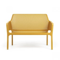 Net Bench DeFrae Contract Furniture Mustard