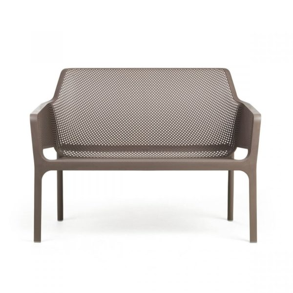 Net Bench DeFrae Contract Furniture Turtle Dove