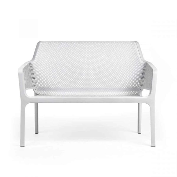 Net Bench DeFrae Contract Furniture White