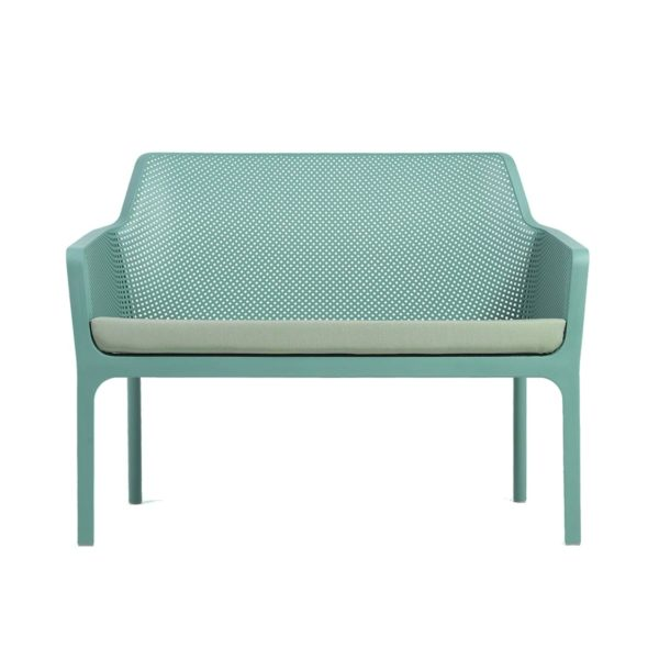Net Bench DeFrae Contract Furniture with cushion