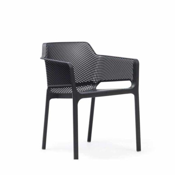 Nett Armchair Nardi DeFrae Contract Furniture Black