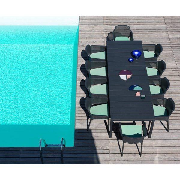 Nett Armchair Nardi DeFrae Contract Furniture Black In Situ