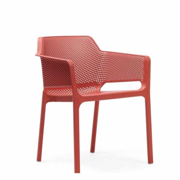 Nett Armchair Nardi DeFrae Contract Furniture Red