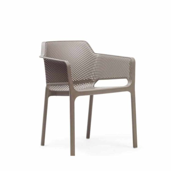 Nett Armchair Nardi DeFrae Contract Furniture Taupe