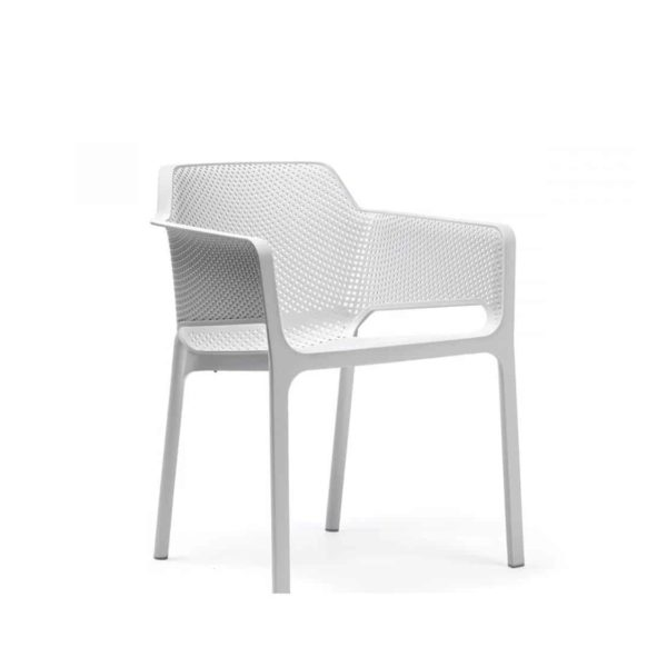 Nett Armchair Nardi DeFrae Contract Furniture White