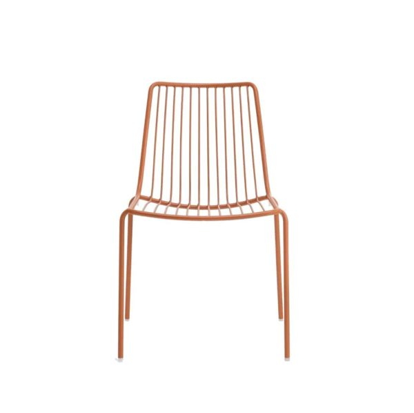 Nolita side chair 3651 Pedrali at DeFrae Contract Furniture Red