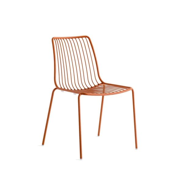 Nolita side chair 3651 Pedrali at DeFrae Contract Furniture Red Front