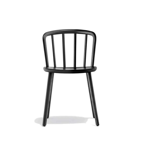 Nym Side Chair 2830 Pedrali at DeFrae Contract Furniture Black