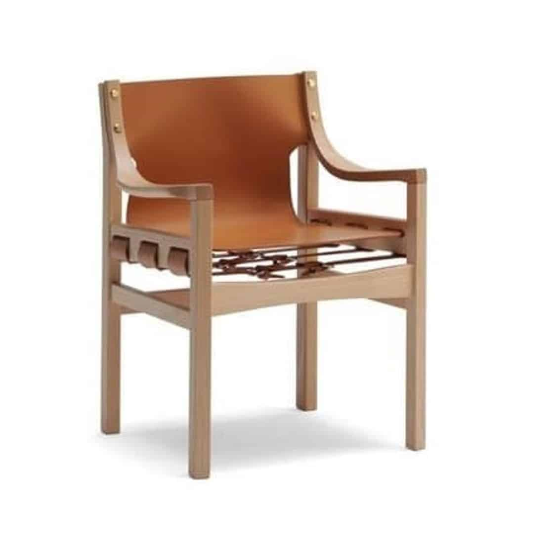 Old Livoni Armchair DeFrae Contract Furniture Tan