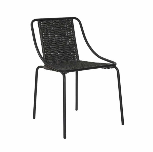 Oyster Woven Side Chair DeFrae Contract Furniture