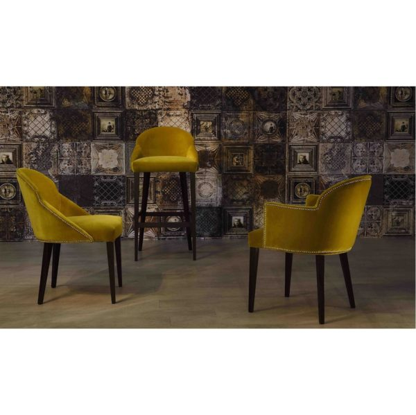 Paris S1 Range Chair Armchair Bar Stool ContractIn at DeFrae Contract Furniture