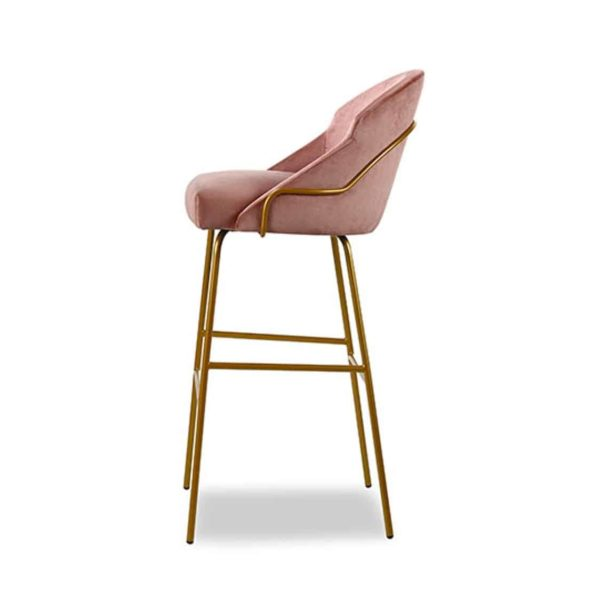 Paris Tube Bar Stool Available From DeFrae Contract Furniture