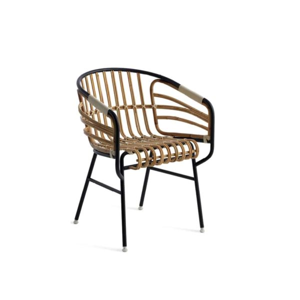 Raphia Armchair Horm Rattan Rope Weave DeFrae Contract Furniture