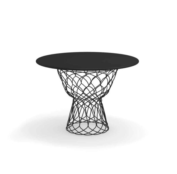 Re Trouve Table 1050 by Emu DeFrae Contract Furniture Black