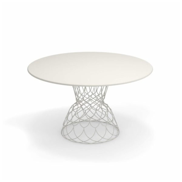 Re Trouve Table 1300 by Emu DeFrae Contract Furniture White