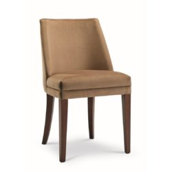 Sophia side chair with classic legs at DeFrae Contract Furniture