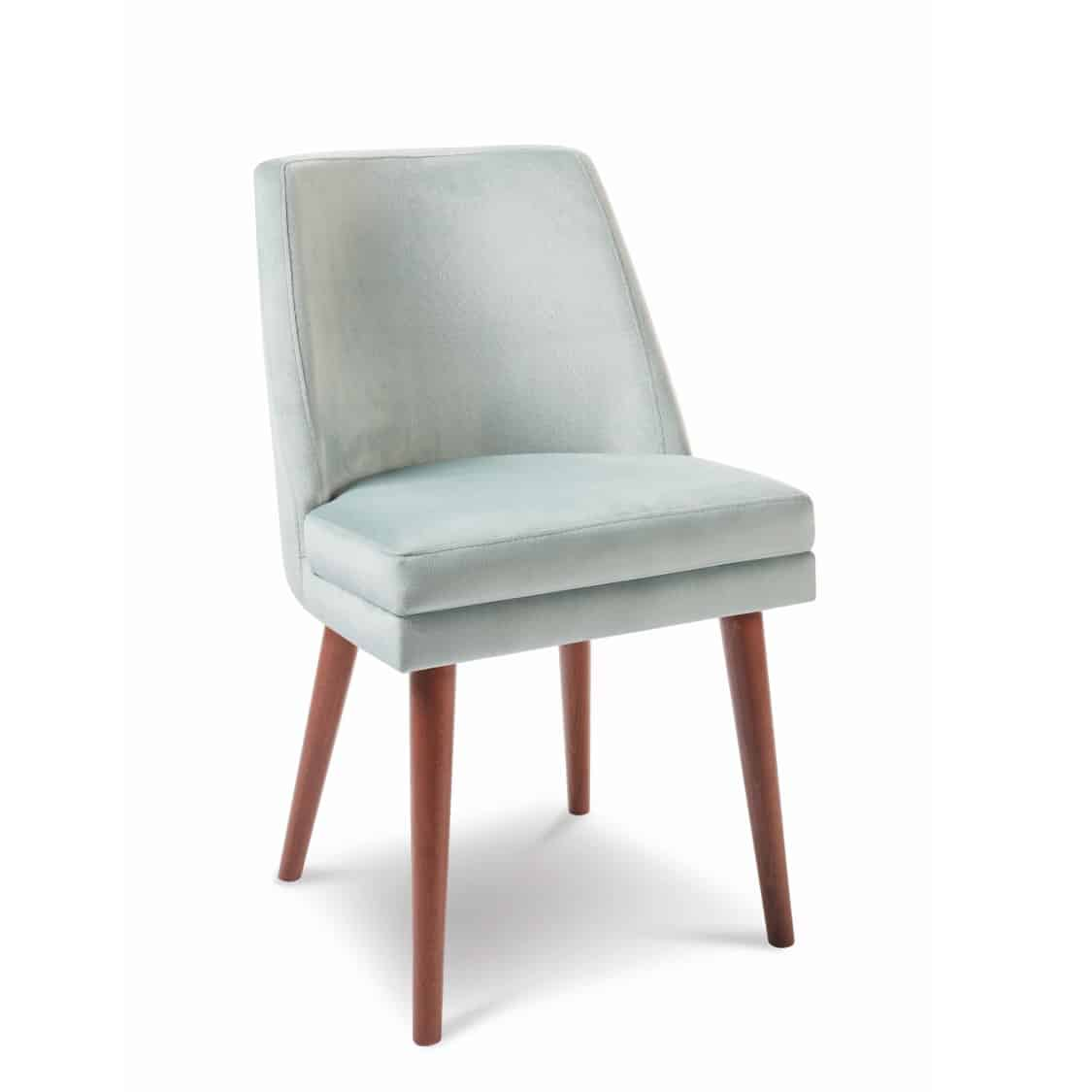 Sophia side chair with round legs at DeFrae Contract Furniture