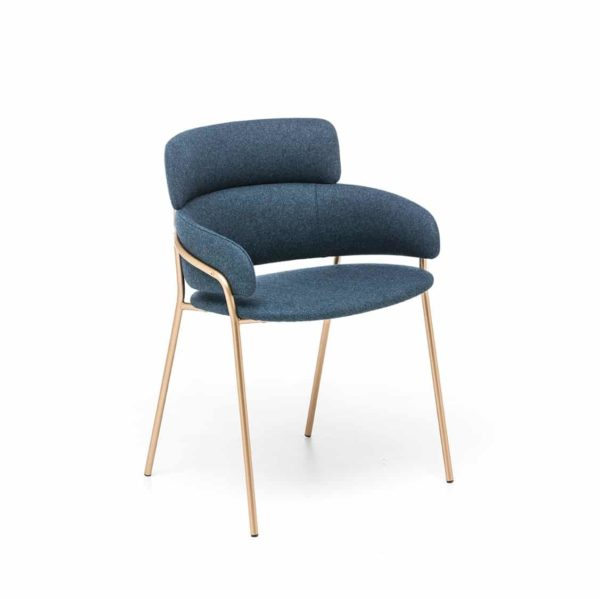 Strike 819 Armchair available at DeFrae Contract Furniture Front