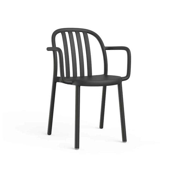 Susie Outdoor Armchair DeFrae Contract Furniture Black