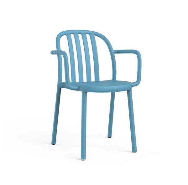 Susie Outdoor Armchair DeFrae Contract Furniture Blue