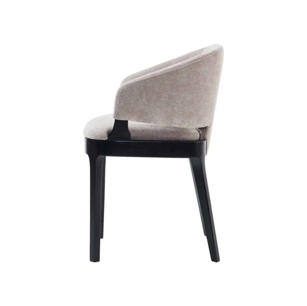 Tea armchair X8 Available from DeFrae Contract Furniture side view