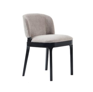 Tea chair X8 Available from DeFrae Contract Furniture Side View