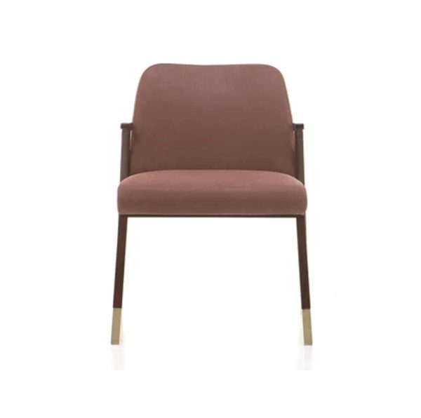 Tennesse Side Chair Tenues 2301 Pro Cizeta Available From DeFrae Contract Furniture Tan