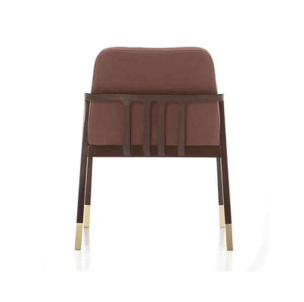Tennesse Armchair Tenues 2302 Pro Cizeta Available From DeFrae Contract Furniture Side Brown Back